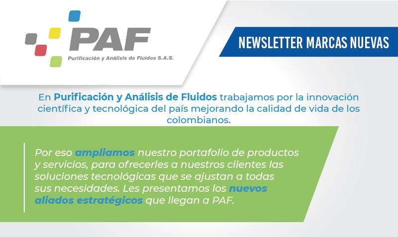 Newsletter Marcas PAF